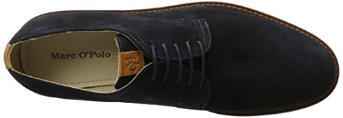 Up 70123773401300 Blu Lace Marc 890 Stringate Uomo Shoe Scarpe Navy O'Polo pO8xwt