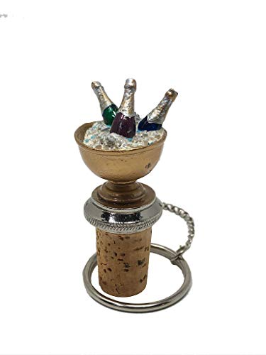 Champagne Bucket Wine and Beverage Bottle Stopper (Holiday Wine Stoppers Sale)