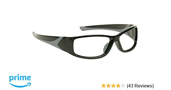 75a8d7ea5c6 Black Wraparound X-ray Radiation Protection Lead Glasses - Eye Protection  Equipment - Amazon.com