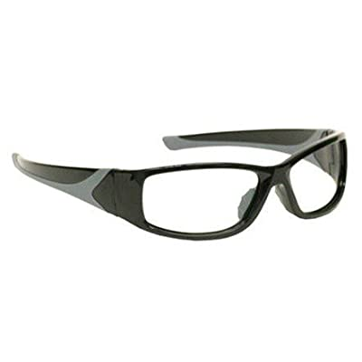 Image of Eye Protection X-ray Radiation Leaded Protective Eyewear in Stylish, Lightweight and Comfortable Wrap-around Plastic Safety Frame That Is Designed to Hug the Contour of Your Face Blocking Light From All Angles
