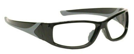 Black Wraparound X-ray Radiation Protection Lead Glasses