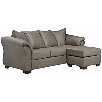 Amazon Com Ashley Hodan 7970018 93 Inch Sofa Chaise With Pillows