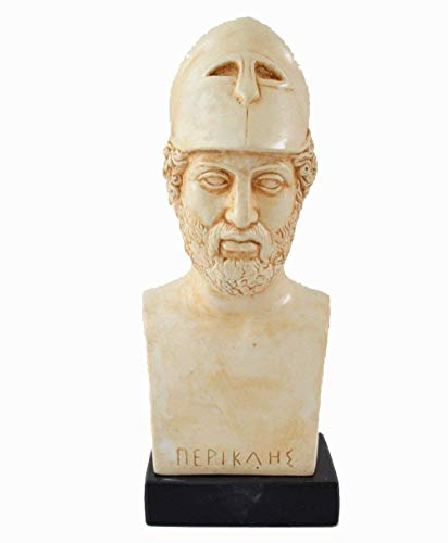 Estia Creations Pericles Bust Athenian Orator - Ancient Greece Athens Golden Age General