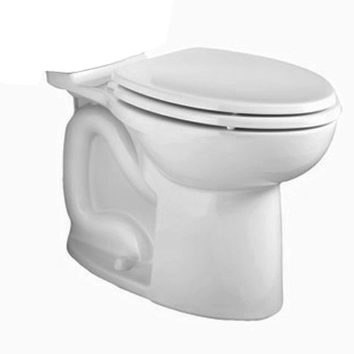 American Standard 3016001US.020 Cadet 3 Flowise Right Height Elongated Two Piece Toilet with Hand Trip Lever, (Cadet 3 Elongated Bowl)