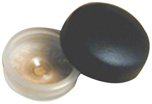 RV Designer H603 Screw Covers - Black, Pack of 14