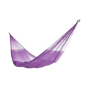 Handmade Purple Mayan Hammock