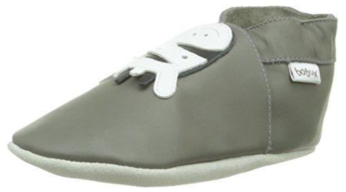 Bobux 460612, Patucos para Bebé Grey