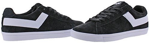 Pony Top Star Hommes Retro Fashion Sneakers Chaussures Noir / Blanc