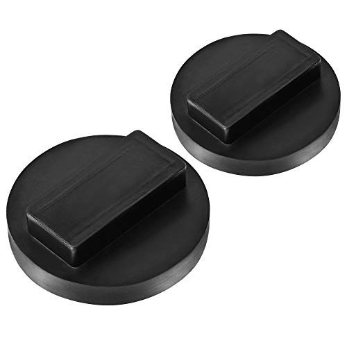 (SuboTech 2 Pack Universal for BMW and Mini Square Polyurethane Jack Pad Adapter,BMW & Mini Jack Pad )