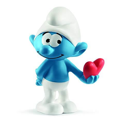 (Schleich Smurf with Heart Toy)