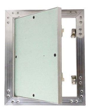 MKK-gK-insert de pl/âtre 200 x 300 mm kRAL4 trappe de 12,5 mm 20 cm x 30 cm-shop avec cadre en aluminium vert trockenbau adapt/é aux pi/èces humides