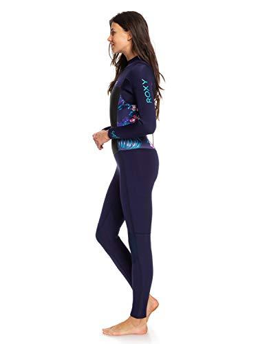 Erjw103028 Blue 4 Zip 5 Back Gbs Ribbon 3mm Roxy Bleu Femme SeriesCombinaison Syncro Pour UGqjLVSMpz