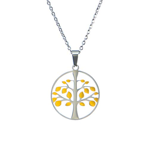 MoCeYa Tree of Life Necklace - Pendant Necklace for Women Tree Necklace for Women Unique Necklace Charm Necklace for Women Lucky Necklaces for Women Gifts for Women Gold Necklace for Her
