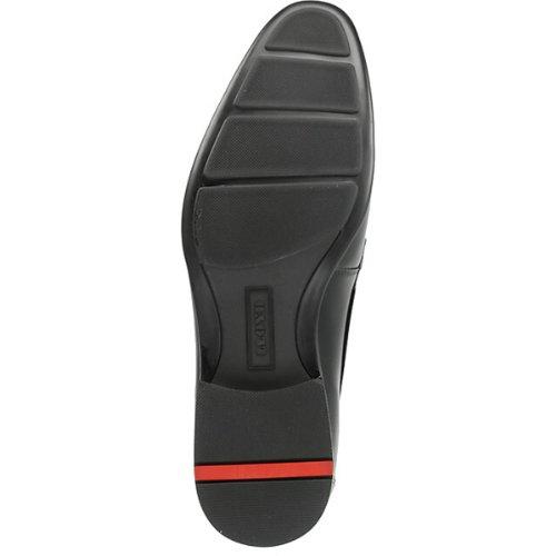 LLOYD Herren JAIME 11-144-00 - Eleganter Business-Schnürschuh - Cool Calf Leder (schwarz) - Manno Gummisohle Schwarz