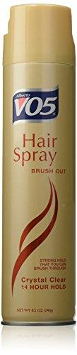 Alberto VO5 Out Crystal Clear 14 Hour Hold Hair Spray Bru...