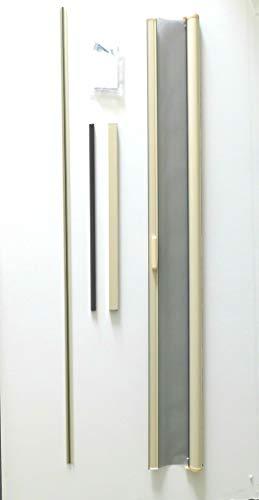 Casper Retractable Single Door Screen (Almond) ()