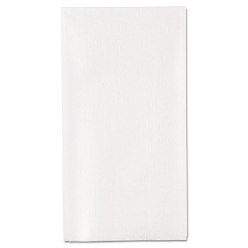 Georgia Pacific 92113 1/6-Fold Linen Replacement Towels, 13 x 17, White, 200/Box, 4 ()