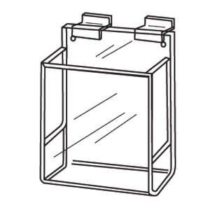 Acrylic Brochure Holder for Slatwall, ()