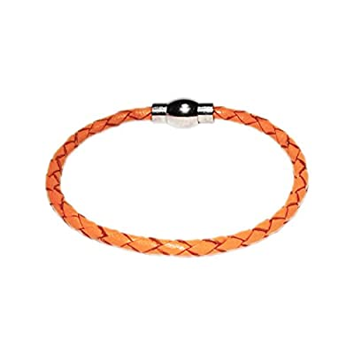 AUTHENTIC HANDMADE Leather Bracelet, Men Women Wristbands Braided Bangle Craft Multi [SKU003128]