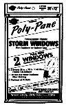 Warp Brothers 2P-24 2-Piece Storm Window Kit -