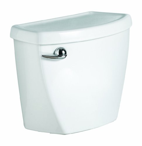 (American Standard Cadet 3 1.28 gpf 10-Inch Rough Toilet Tank Only, White White)