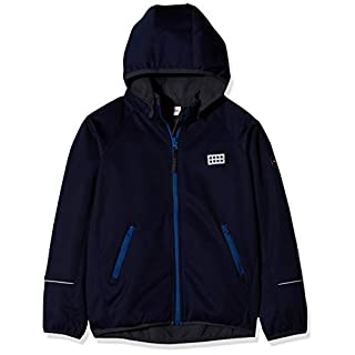 LEGO Wear Unisex Jacket With Windproof Finish and Detachable Hood, Dark Navy, 18 Months