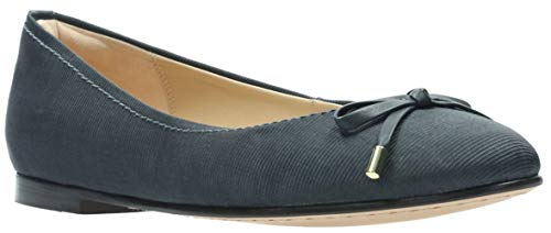 CLARKS Women's Grace Lily Dark Grey Satin 6.5 B US