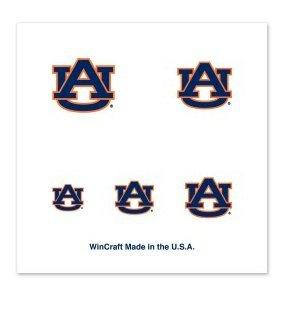 Nail Tattoos Temporary (NCAA Auburn Tigers 4-Pack Temporary Nail Tattoos)