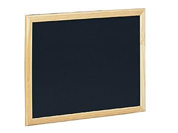 Fajeda- Pizarra Negra Marco de Madera, 40 x 60 cm (505-2 ...