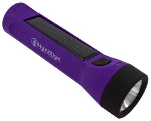 31EyBa1edGL - Hybridlight Journey - Solar / Rechargeable 160 Lumen LED Waterproof Flashlight. High / Low Beam, USB Cell Phone Charger, Built In Solar Panel Charges Indoors or Out,  USB Cable Included for Quick Charge