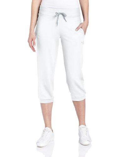 PUMA Women's Capri Sweat Pant, White, X-Large ()