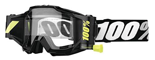 (100% Unisex-Adult Speedlab (50220-059-02) ACCURI Forecast Goggle Tornado-Clear Lens, One Size))
