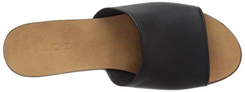ALDO Womens Rubicone Mule Black Leather QmrPkVNqo
