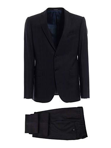 Emporio Armani Men's 11Vmet11671920 Black Wool Suit