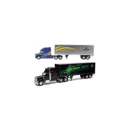 New-Ray Toys AS14210NR Toys44;1 32 Die - Cast Intl Mack Longhauler Trucks Assortment by New-Ray Toys Inc