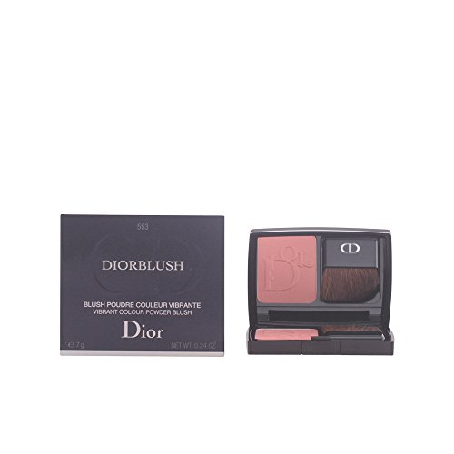 Christian Dior Satin - Christian Dior Blush Vibrant Color Powder Blush Cocktail Peach for Women, 0.2 Ounce