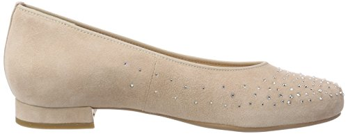 Hassia Women's Bologna, Weite G Closed Toe Ballet Flats Red (Rose 4700)