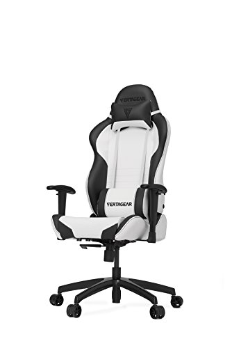 Vertagear S-Line SL2000 Racing Series Gaming Chair - White/Black (Rev. - Rev Racing