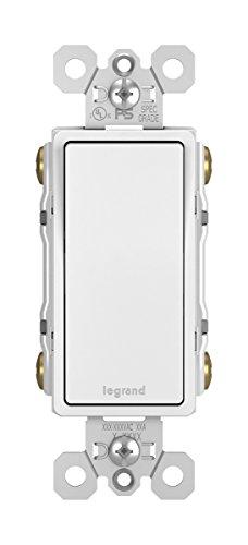 Legrand-Pass & Seymour TM874WCC6 15 Amp 4-Way Switch, 1-Pack, White