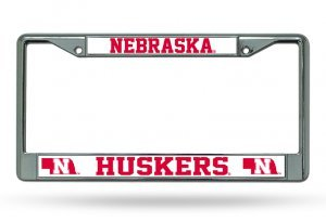 NCAA Nebraska Cornhuskers Chrome Plate ()