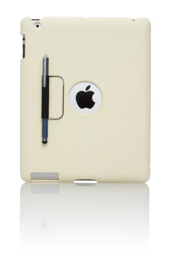 Targus Slim Case for iPad 2, iPad 3 and iPad 4, Bone White (THD00601US) by Targus