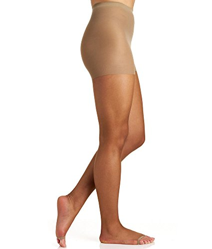 Berkshire Women's Hose Without Toes Ultra Sheer Control Top Pantyhose, Utopia, 1