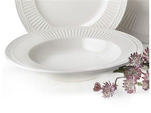 Mikasa Italian Countryside Rimmed Soup Bowls Set of 2 ()