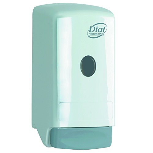 DIA03226 - Liquid Soap Dispenser, Model 22, 800-ml, 5 1/4w X 4 1/4d X 10 1/4h, White