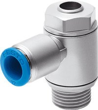Festo 193138 One-Way Flow Control Valve, Model GRLA-M5-QS-4-D Festo Ltd