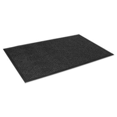 Super Soaker Indoor Wiper (Super-Soaker Diamond Mat, Polypropylene, 34 x 58, Charcoal, Sold as 1 Each)