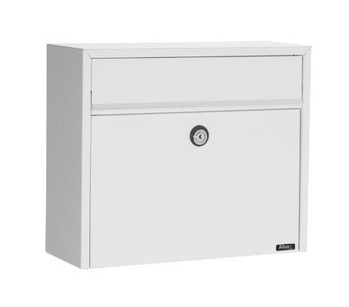 Qualarc ALX -LT150-WHT Allux Series LT150 Wall Mount MailBox, White by Qualarc