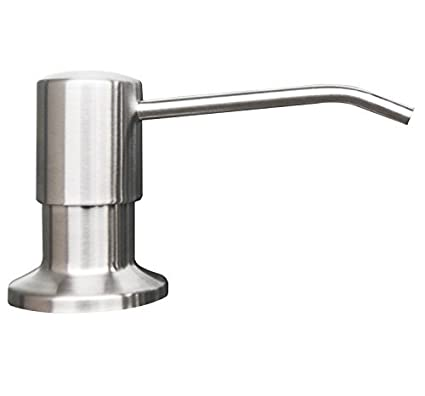 Toogou mejor fregadero de acero inoxidable dispensador de jabón (satén) – Large Capacity 17