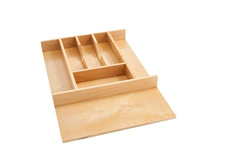Rev-A-Shelf - 4WCT-1SH - 2-3/8 in. Small Wood Cutlery Drawer Insert ()