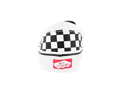 true 2018 checkerboard White fall Slip Black Classic on Youth Vans qHwA8TgT